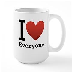 I Love Everyone Mug