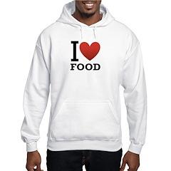 I Love Food Hoodie