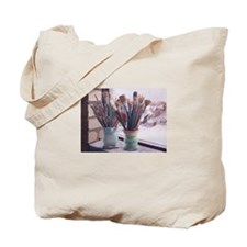 Brushes Bouquet Tote Bag
