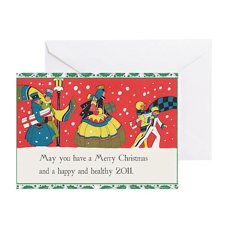 Nostalgic Christmas Greeting Cards (Pk of 10)