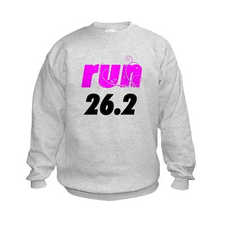 Run 26.2 Kids Sweatshirt