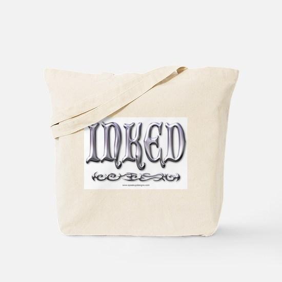 Chrome Inked Tote Bag