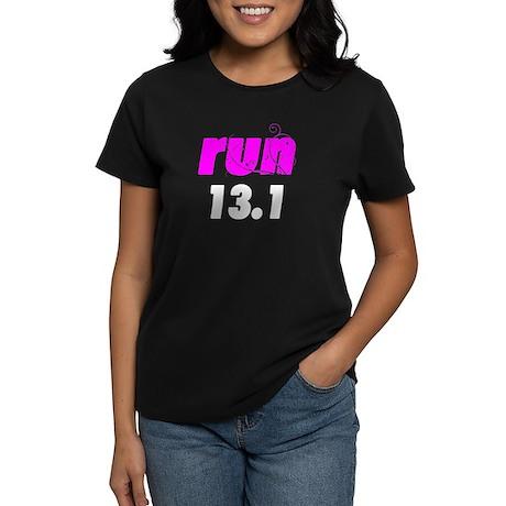 run 13.1 Women's Dark T-Shirt
