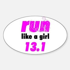 Run Like A Girl 13.1 Decal