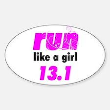 Run Like A Girl 13.1 Decal