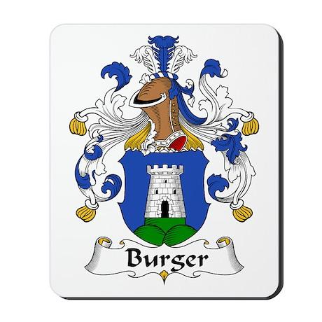 Burger Mousepad