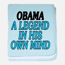 Obama. A legend... baby blanket