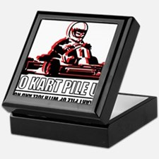 Go Kart Pile Up Keepsake Box