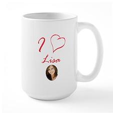 I Love Lisa Mug