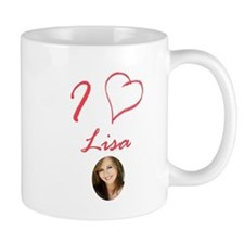 I Love Lisa Coffee Mug