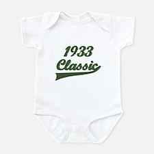 Cute Born in 1933 birthday Infant Bodysuit