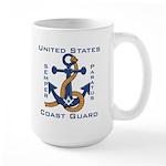 Masonic US Coast Guard Large Mug