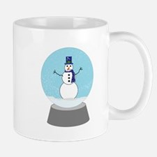 Snow Globe Snowman Mug