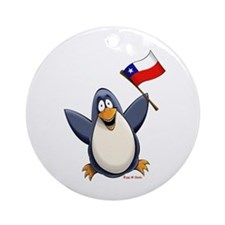 Chile Penguin Ornament (Round)