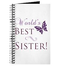World's Best Sister Journal