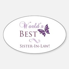 World's Best Sister-In-Law Decal