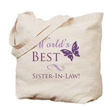 World's Best Sister-In-Law Tote Bag