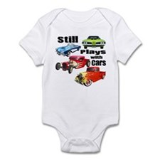 Still Plays With Cars Infant Bodysuit