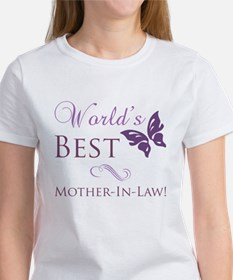 World's Best Mother-In-Law Women's T-Shirt