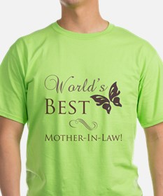 World's Best Mother-In-Law T-Shirt