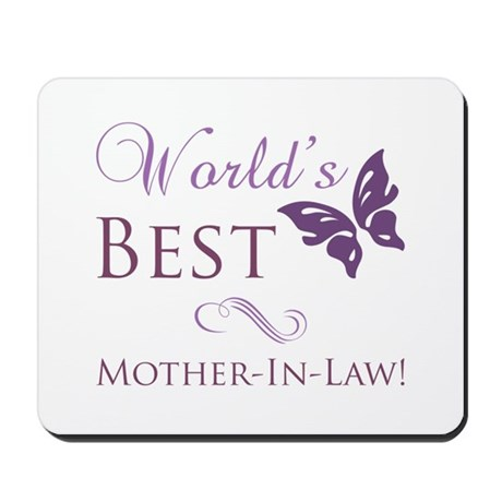 World's Best Mother-In-Law Mousepad