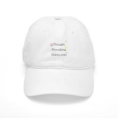 Thought Provoking Shirts logo on Baseball Cap