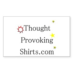 Thought Provoking Shirts logo on Decal