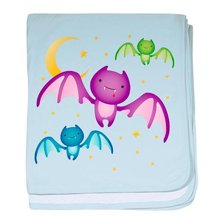 Drippy the Bat baby blanket