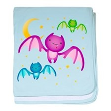 Drippy the Bat baby blanket