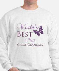 World's Best Great Grandma Sweatshirt