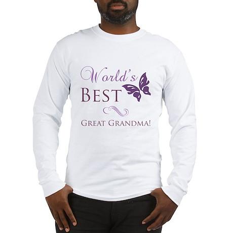 World's Best Great Grandma Long Sleeve T-Shirt
