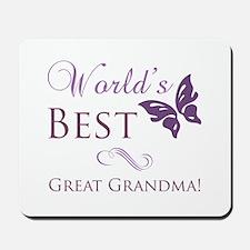 World's Best Great Grandma Mousepad