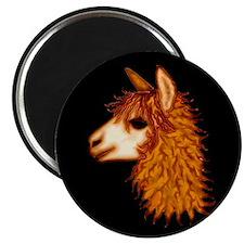 Unique Alpaca art Magnet