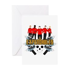 TheRedExpendables Greeting Cards
