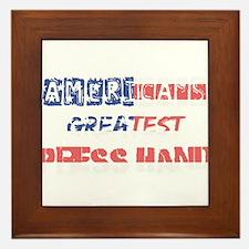 America's Greatest Press Hand Framed Tile