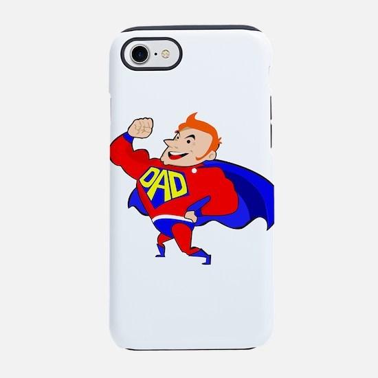 redhead super dad iPhone 7 Tough Case