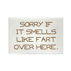 Sorry Rectangle Magnet (10 pack)