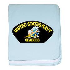 Cute Seabee baby blanket