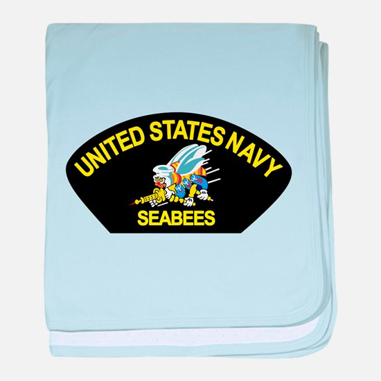 Unique Seabee baby blanket