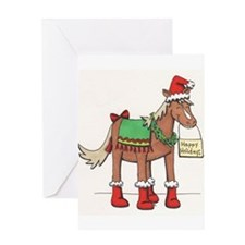 Cool Horse drawing Greeting Card