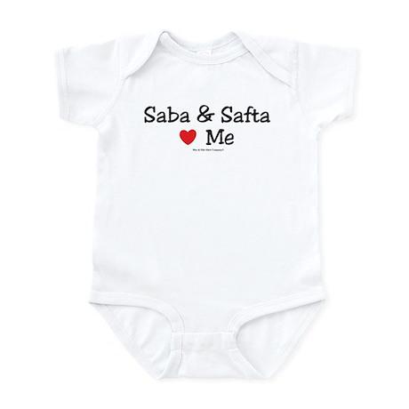 """Saba & Safta """"Heart"""" Me Infant Bodysuit"""