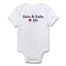 "Saba & Safta ""Heart"" Me Infant Bodysuit"