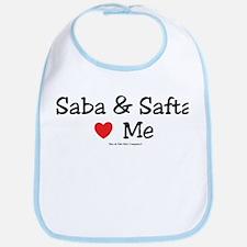 """Saba & Safta """"Heart"""" Me Bib"""