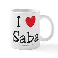 I heart Saba Mug