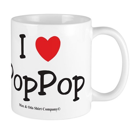 I heart PopPop Mug