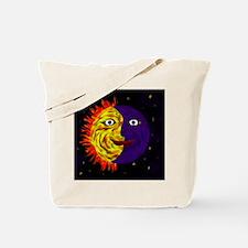 Sun and Moon and Stars Tote Bag