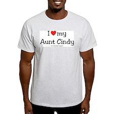 I heart Aunt Cindy T-Shirt