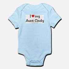 I heart Aunt Cindy Infant Bodysuit