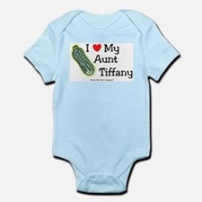 I Love Aunt Tiffany - custom Infant Bodysuit