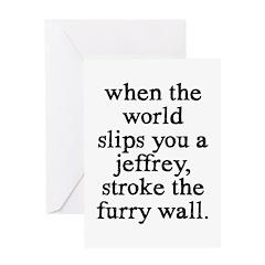 Jeffrey Greeting Card
